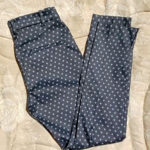 H&M dress pants, navy, size 4